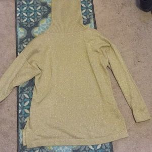 Gold Turtle Neck Sweater